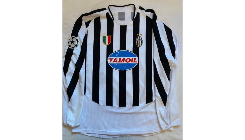 Ferrara's Juventus Match Shirt, UCL 2003/04