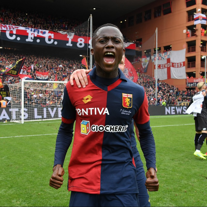 Shirt Worn by Kouame for the Genoa-Juventus Match