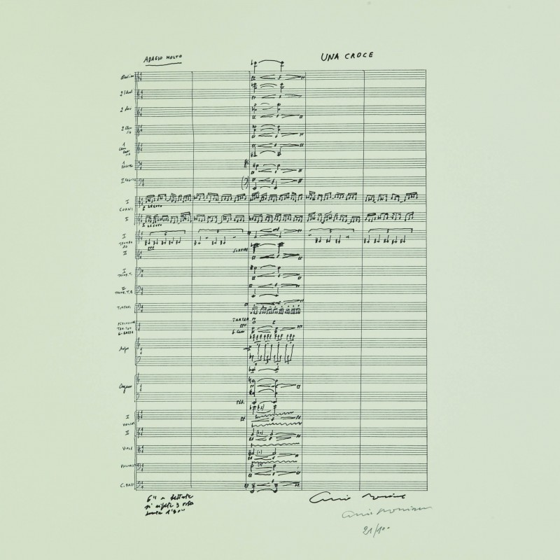 """Una croce"" by Ennio Morricone"