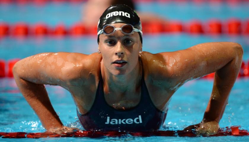 Jaked Swimsuit Signed By Federica Pellegrini Charitystars