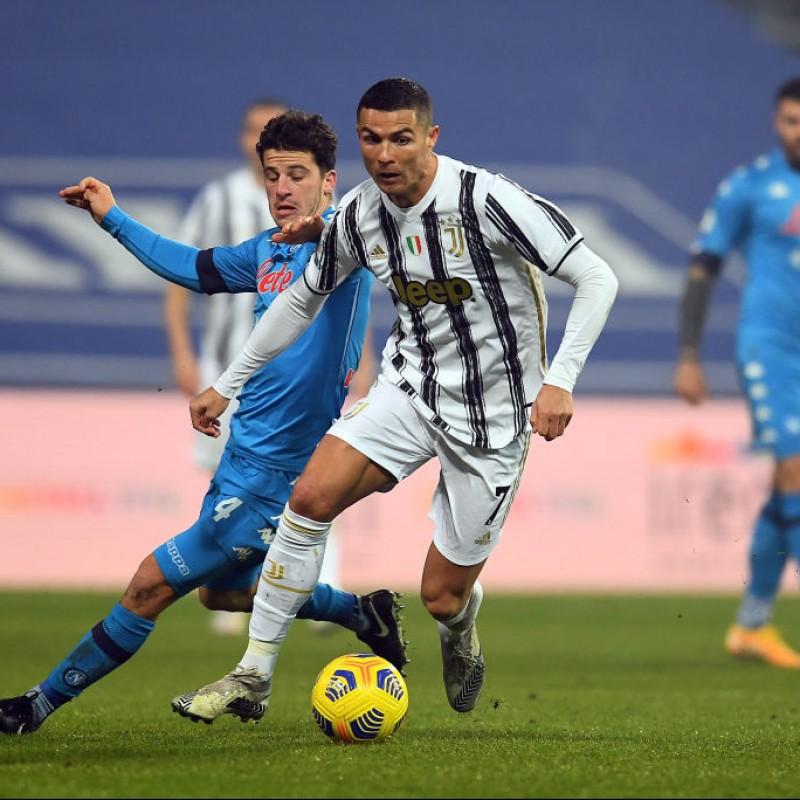 Ronaldo's Juventus Match Shirt, Supercoppa 2021