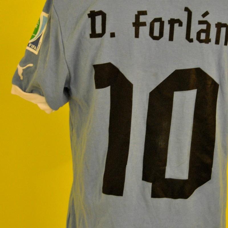 Maglia match worn Forlan Confederation Cup 2013