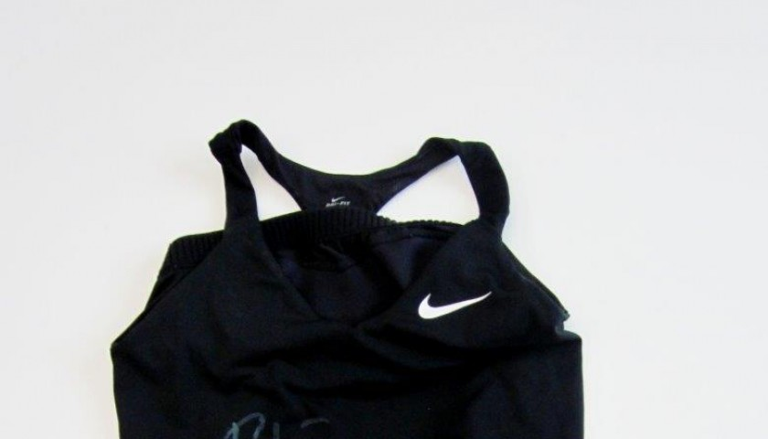 Match tennis outfit worn by Roberta Vinci, Italian Open - signed