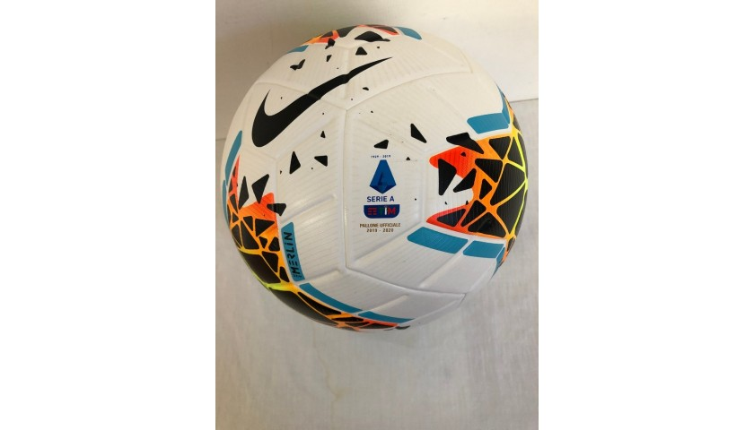 Match Ball Serie A, Juventus-Lecce 2018/19 - Signed by Ronaldo