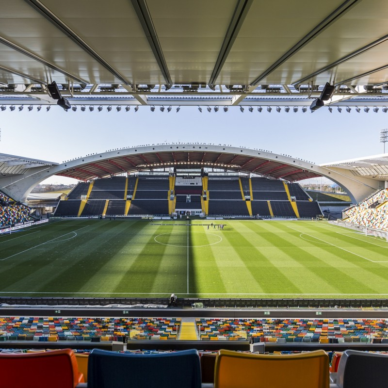 Exclusive Tour of the Dacia Arena in Udine, Italy