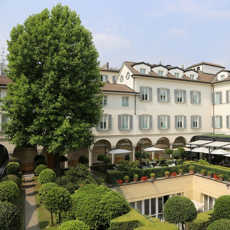 One-Night Stay at the Four Seasons Hotel in Milan