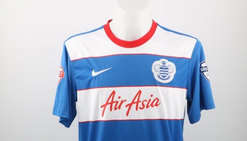 super popular 93ffd 5e4d3 Chery QPR match worn and signed shirt, Football League Championship 15/16 -  CharityStars