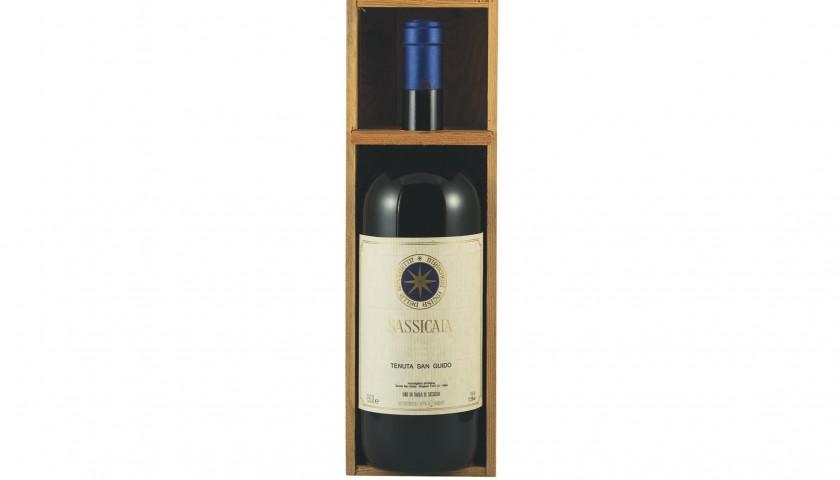 Lot 7 - Magnum red wine Sassicaia