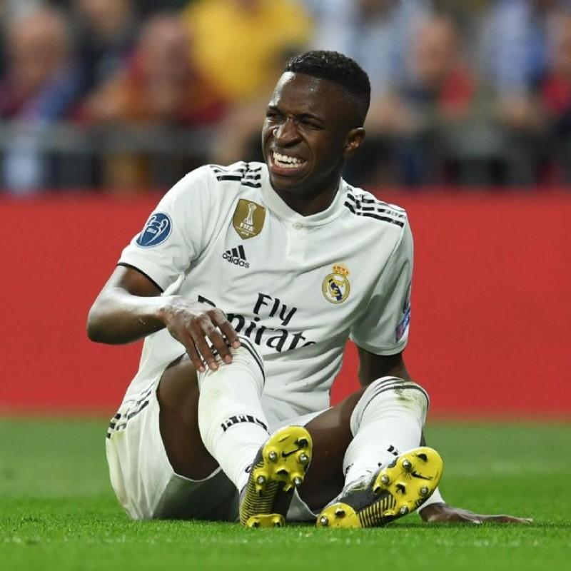 Vinicius Jr.'s Real Madrid Match Shirt, UCL 2018/19