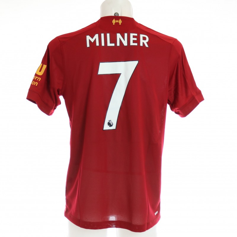 Milner's Issued and Signed Limited Edition 19/20 Liverpool FC Shirt