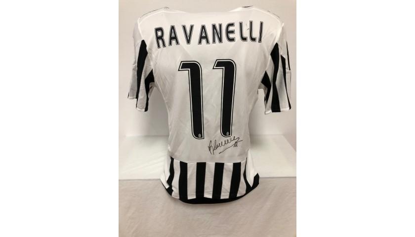 Ravanelli's Authentic Juventus Signed Shirt, 2015/16