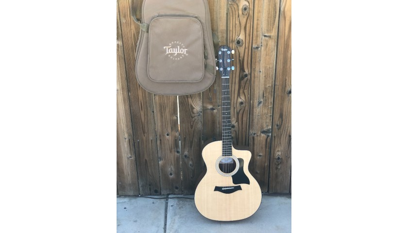 Marcus Grimmie Signed Guitar