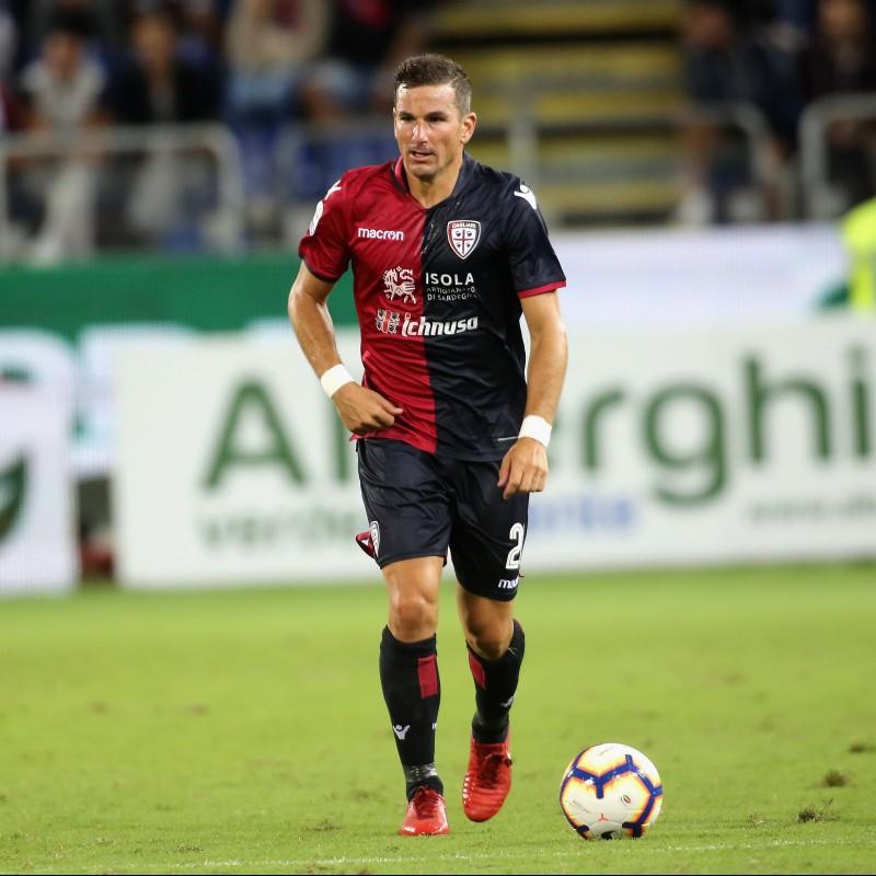 Pantaloncini Padoin, indossati Cagliari-Juventus 2019