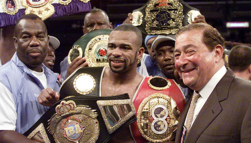 WBA Champion's Belt Signed by Roy Jones Jr.