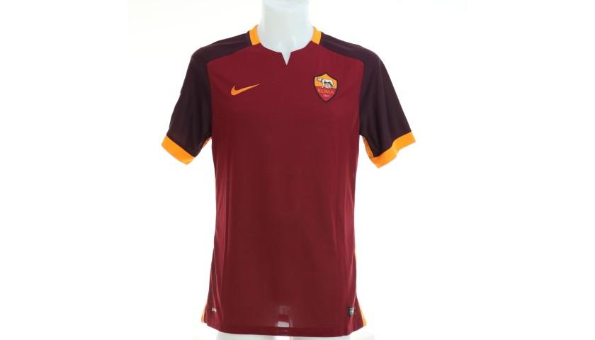 Totti's Roma Match Shirt, Serie A 2015/16