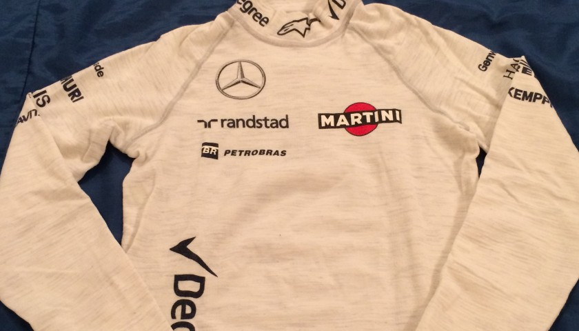 2015 Felipe Massa's Race Worn Nomex