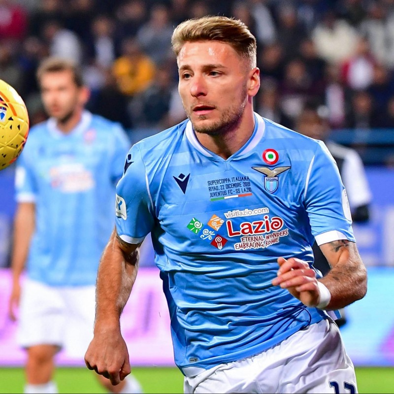 Immobile's Match Shirt, Italian Super Cup 2019
