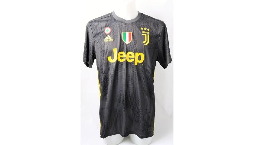 various colors 5d0c4 1b6c0 Ronaldo's Official Juventus 2018/19 Signed Shirt - CharityStars