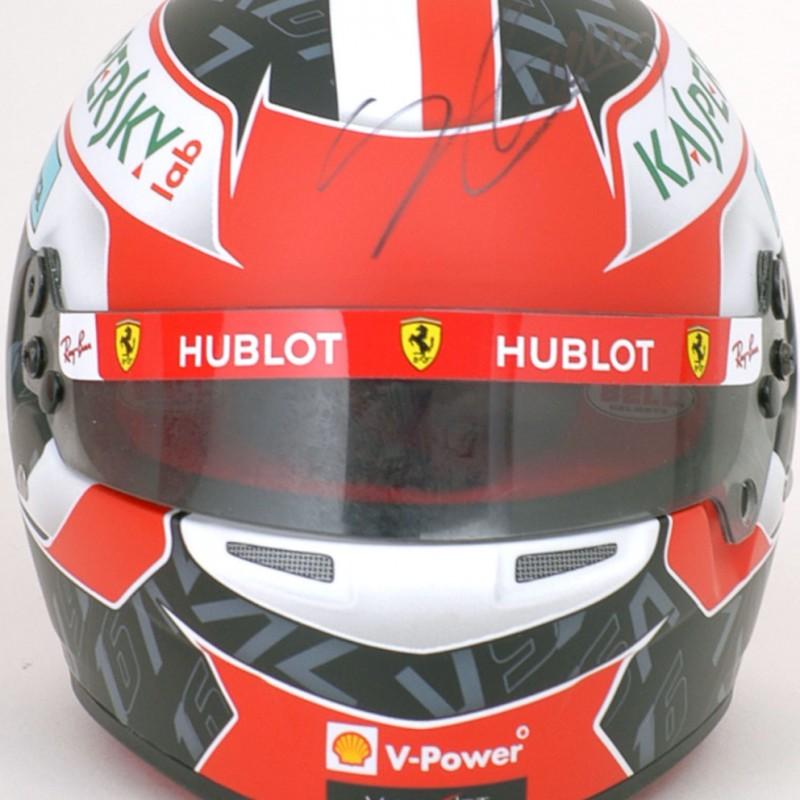 Charles Leclerc Signed 1:2 Replica Ferrari Racing Helmet