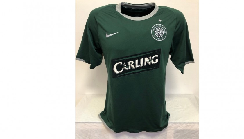 Nakamura's Celtic Glasgow Signed Match Shirt, 2007/08