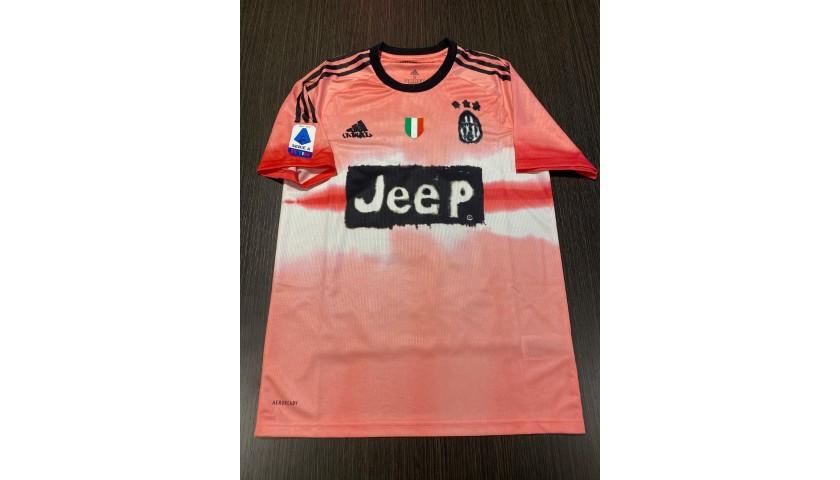 Dybala's Juventus Humanrace Match Shirt, 2020/21