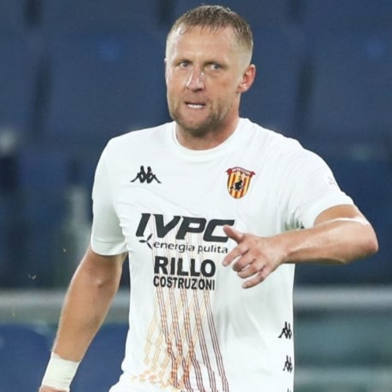 Glik's Benevento Match Shirt, 2020/21 - Signed by the Players