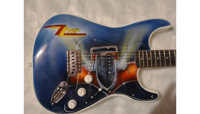ZZ Topp Signed Guitar