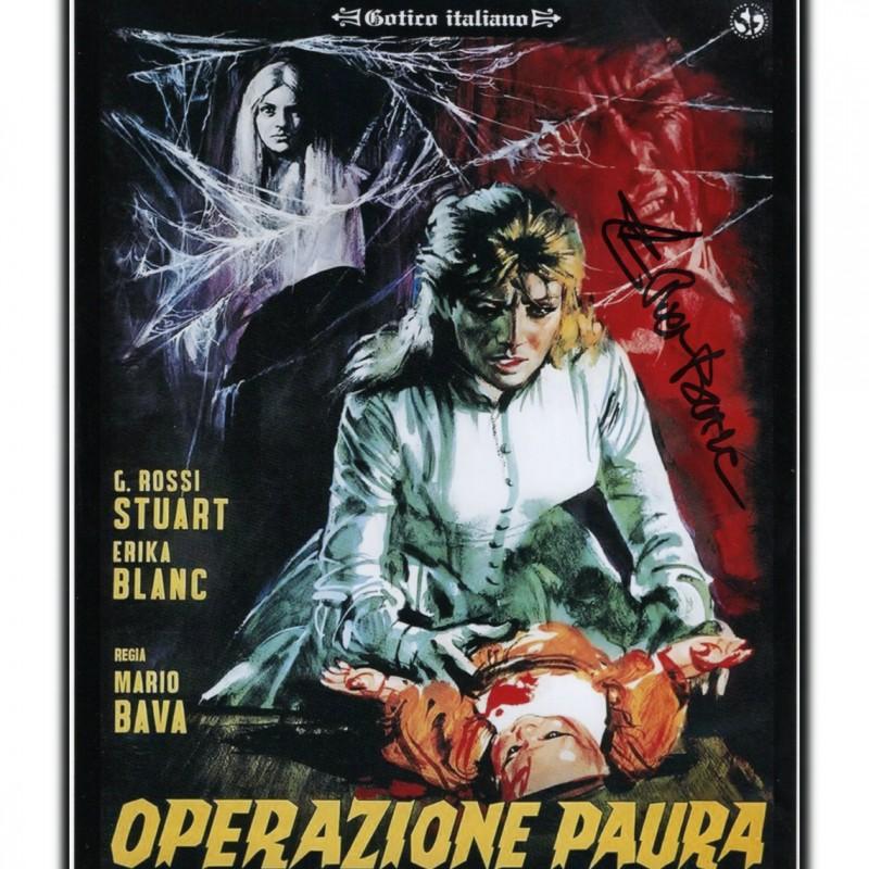 """Operazione paura"" Photograph Signed by Erika Blanc"