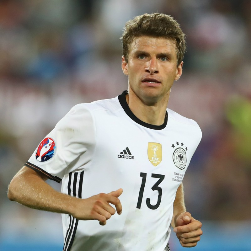 Muller's Official Germany Signed Shirt, 2016