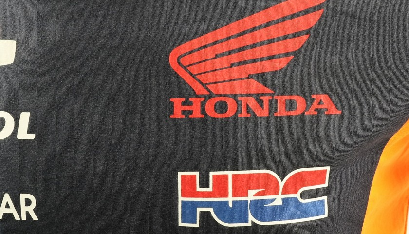 Honda 2017 T-Shirt Signed by Marquez + Limited Edition Book