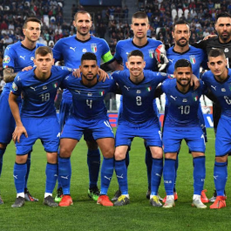 Bernardeschi's Match Shirt, Italy-Bosnia 2019