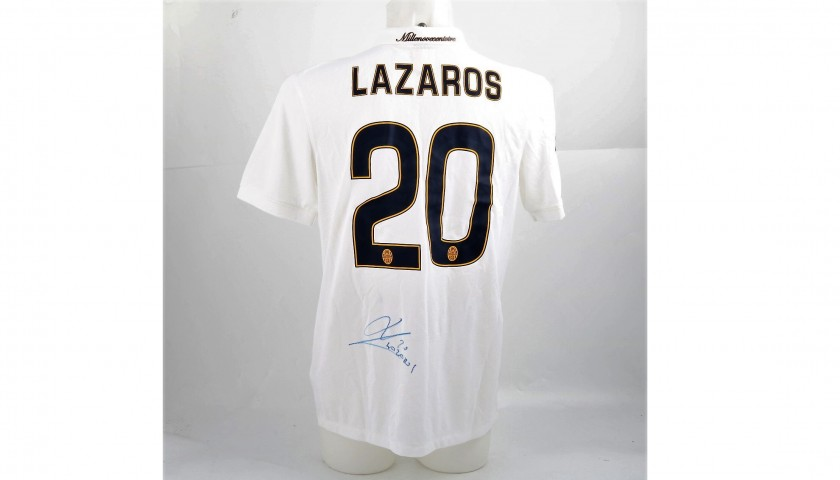 Official Lazaros Hellas Shirt, 2014/15 - Signed