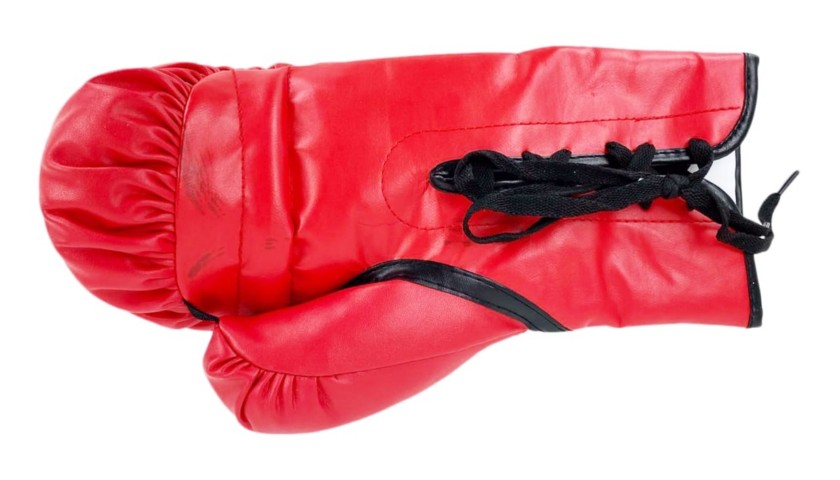 Everlast Glove Signed by Tyson Fury