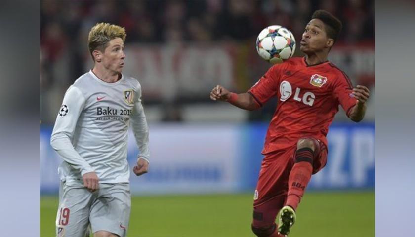 Torres' Match Shirt, Bayer Leverkusen-Atletico Madrid 2015