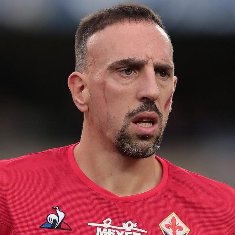 Ribery's Fiorentina Match Shirt, Serie A 2019 /20