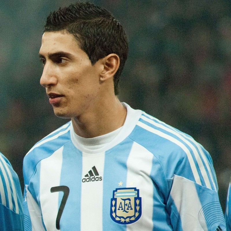 Di Maria's Official Argentina Signed Shirt, 2010/11