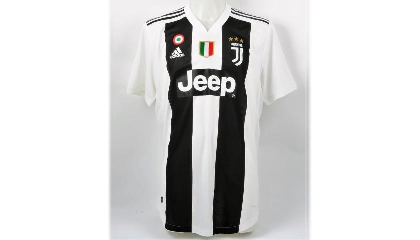 Chiellini's Authentic Juventus 2018/19 Signed Shirt