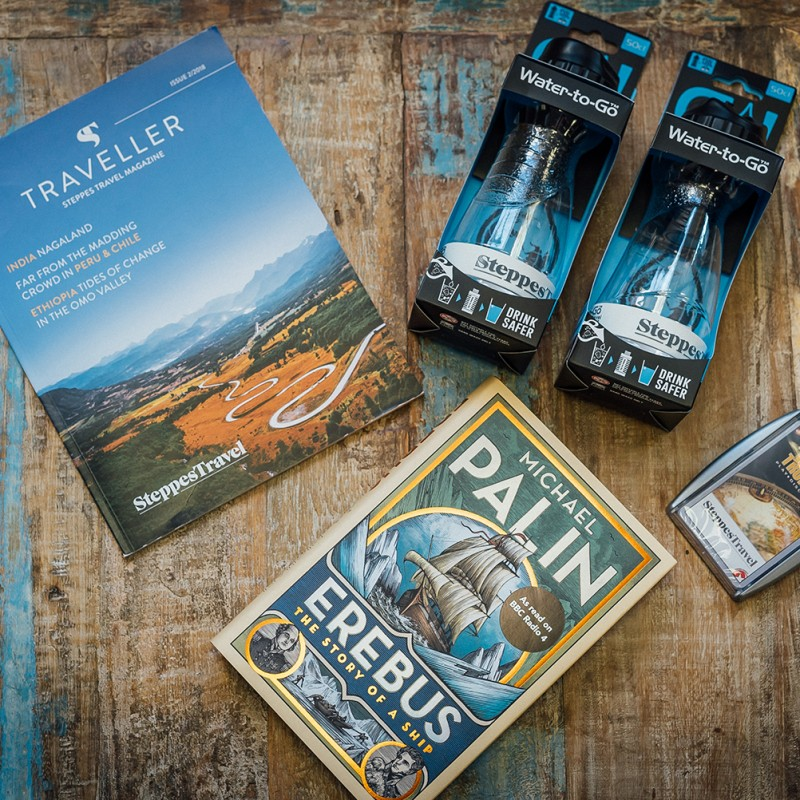 Essential Travel Pack from Steppes Travel