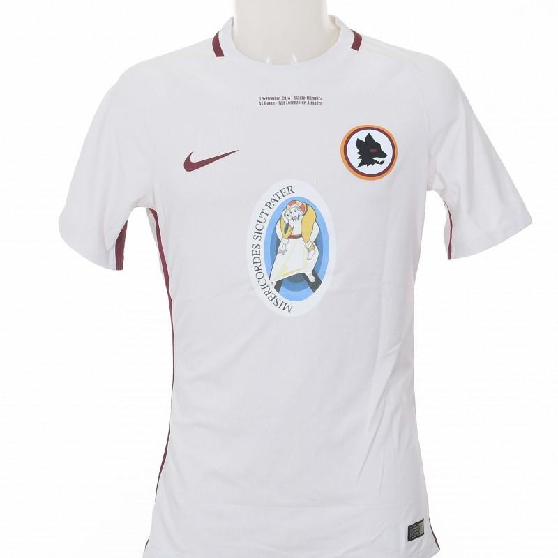 El Shaarawy's Worn Shirt, Roma-San Lorenzo de Almagro