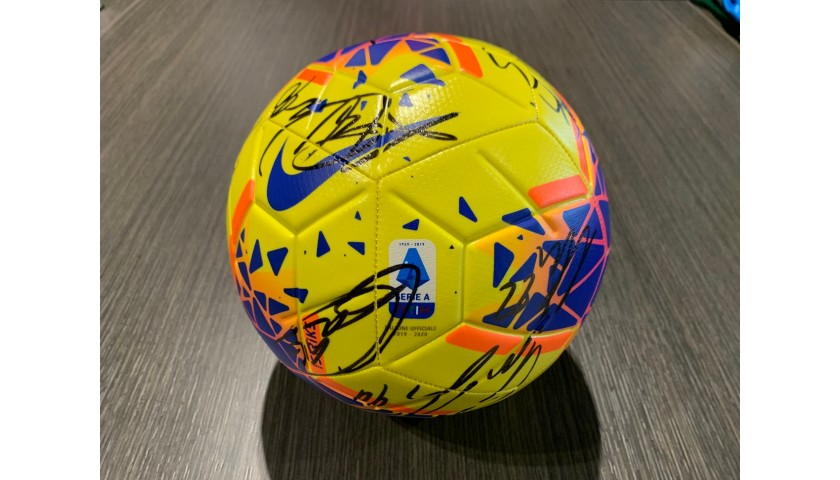 Official Serie A 2019/20 Football - Signed by the Milan Players