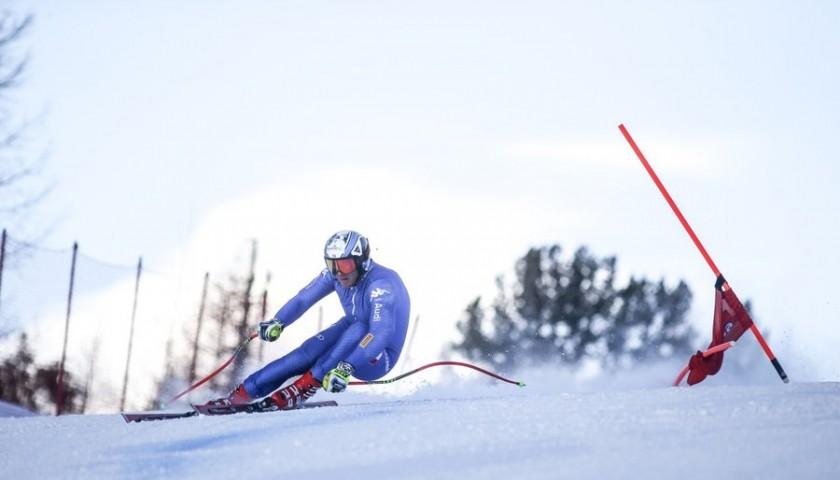 VIP Access to FIS Alpine Junior World Ski Championships Val di Fassa 2019 plus Ski Bib Signed by FISI Champions
