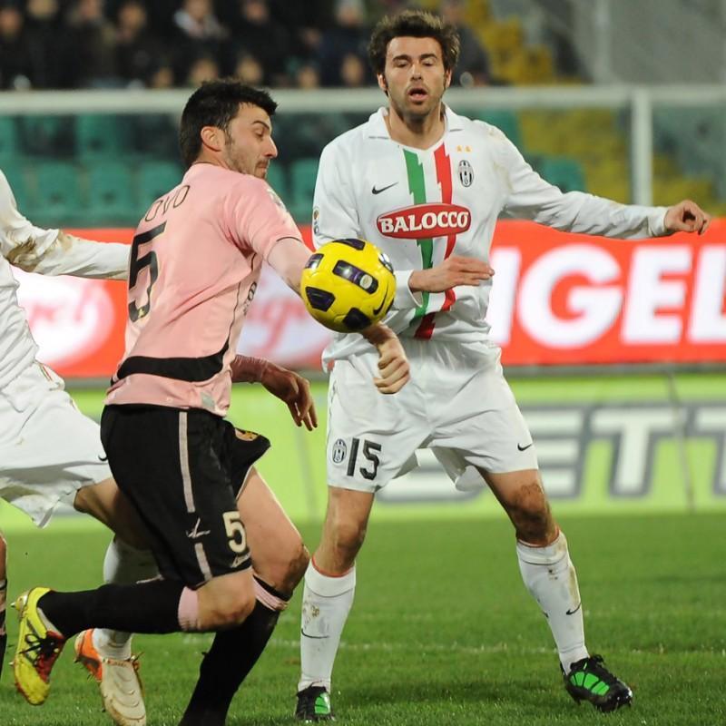 Barzagli's Juventus Match Shirt, 2010/11