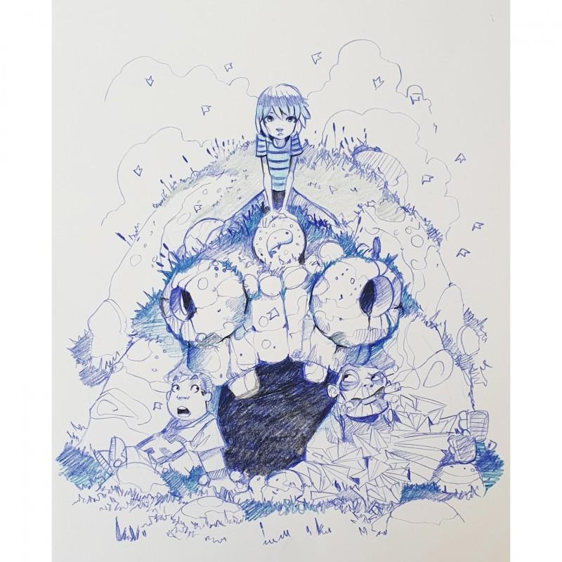 """""""Blue - nella terra dei sogni"""" by Davide Tosello"""