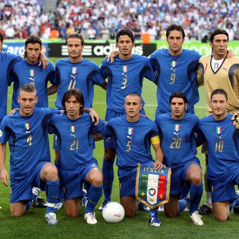 Official Italy Pennant, Italy-Ghana, World Cup 2006
