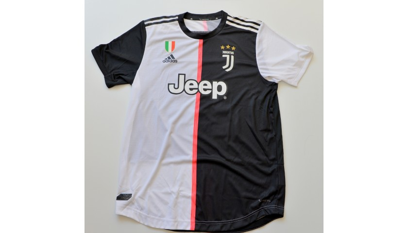 Dybala's Authentic Juventus Signed Shirt, 2019/20