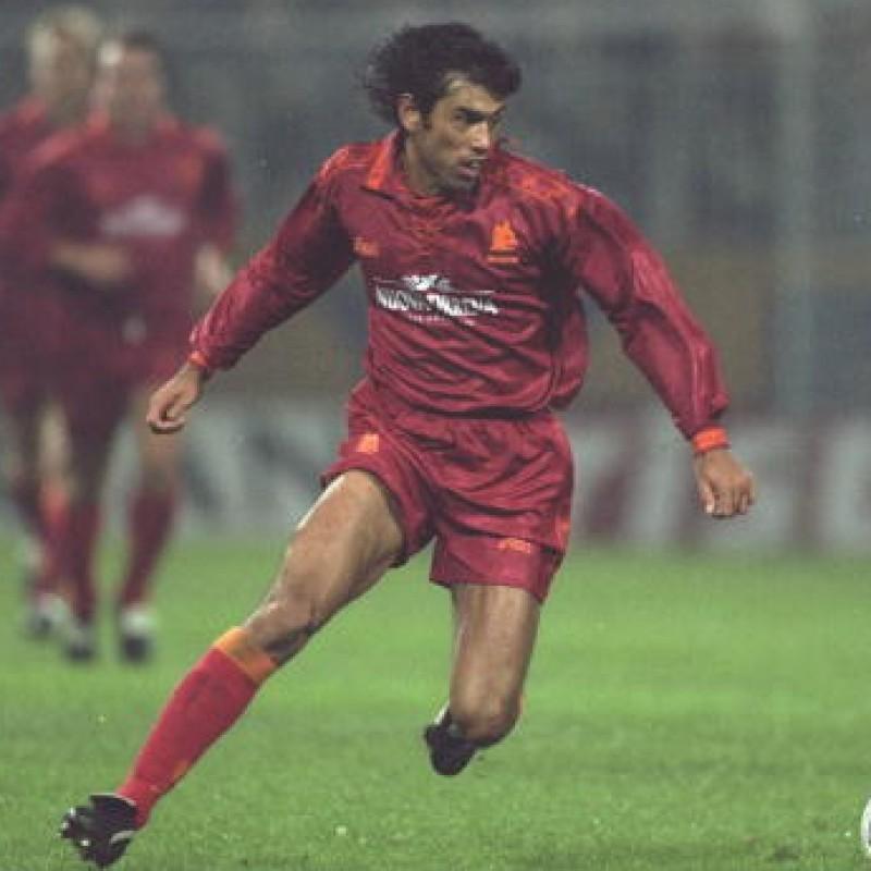 Fonseca's Roma Worn Shirt, 1994/95