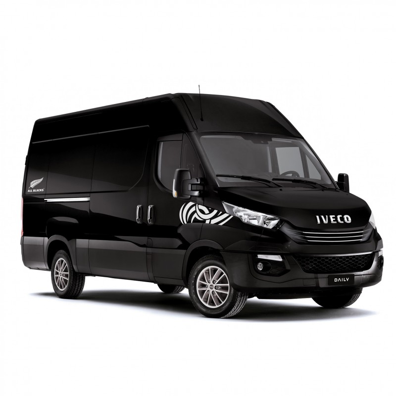 New IVECO Daily HI-MATIC All Blacks Limited Edition
