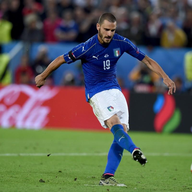 Bonucci Nike Worn Boots, Euro 2016 - Signed