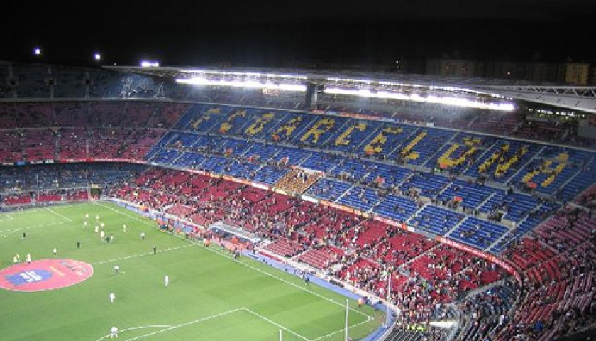 FC Barcelona Training and Game Experience for 2