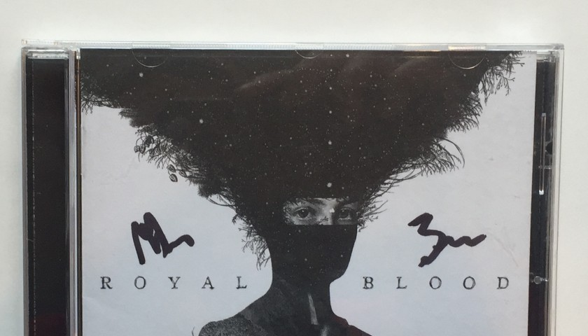 Signed Royal Blood Vinyl and CD